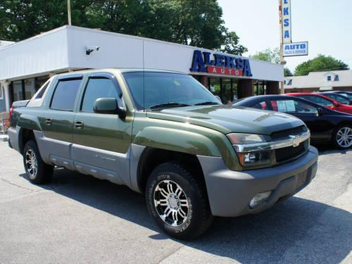 2002 chevrolet avalanche suv 4x4 north face edition for. Black Bedroom Furniture Sets. Home Design Ideas