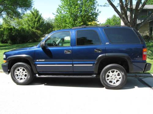 2002 chevy tahoe z71 for sale in greendale wisconsin classified. Black Bedroom Furniture Sets. Home Design Ideas