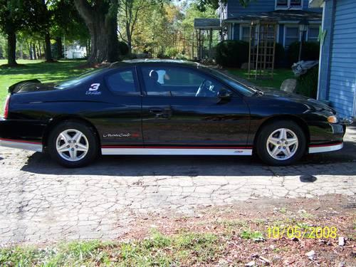 2002 monte carlo ss dale earnhardt signature edition for sale in jefferson ohio classified. Black Bedroom Furniture Sets. Home Design Ideas