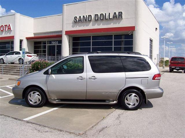 2002 toyota sienna xle for sale in galveston texas classified. Black Bedroom Furniture Sets. Home Design Ideas