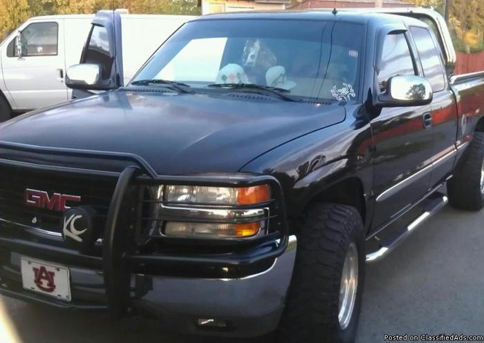 2002gmc 4x4 Z71 Truck For Sale In Elkmont Alabama