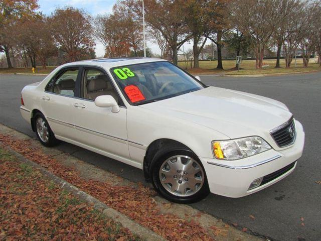 2003 acura rl 3 5 for sale in charlotte north carolina. Black Bedroom Furniture Sets. Home Design Ideas
