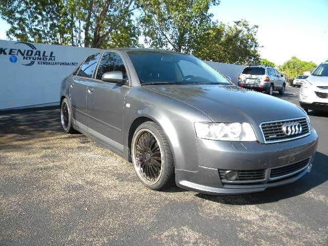 2003 audi a4 1 8t quattro for sale in miami florida. Black Bedroom Furniture Sets. Home Design Ideas