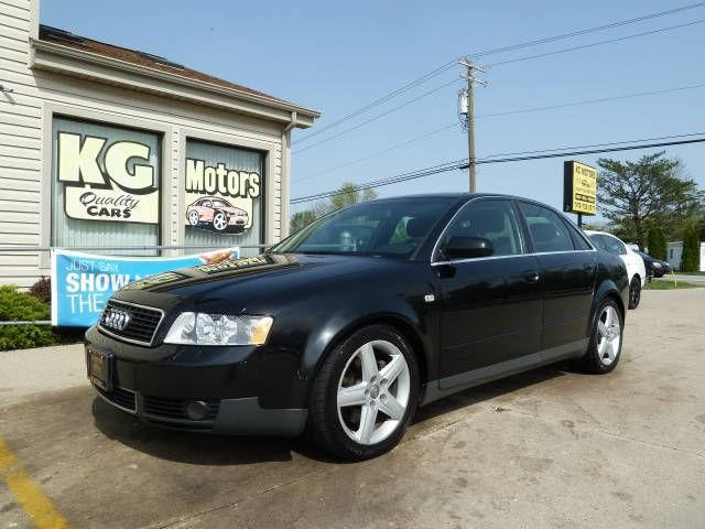 2003 audi a4 3 0 quattro for sale in west chester ohio classified. Black Bedroom Furniture Sets. Home Design Ideas