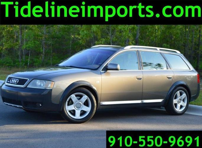 2003 audi allroad 2 7t station wagon for sale in wilmington north carolina classified. Black Bedroom Furniture Sets. Home Design Ideas