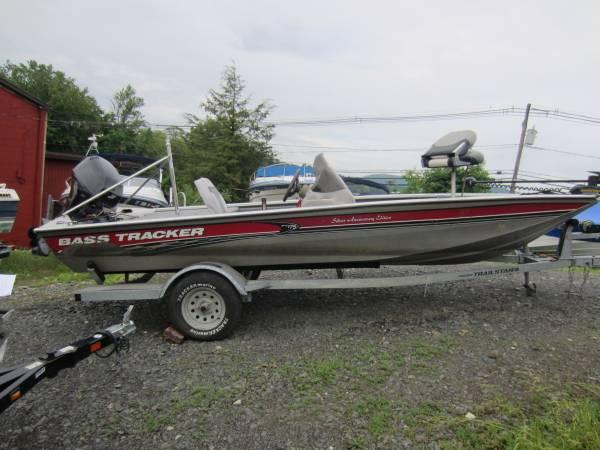 2003 bass tracker pt 175 fishing boat with trailer for for Bass fishing boats for sale
