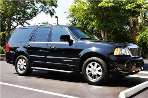 2003 black lincoln navigator suv for sale in gainesville. Black Bedroom Furniture Sets. Home Design Ideas