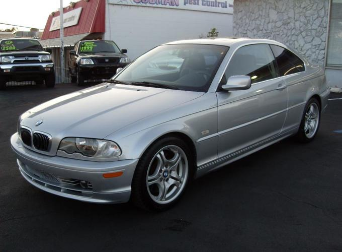 2003 BMW 330CI Sport Package! Silver Coupe! Leather!
