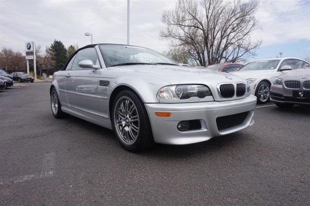 2003 BMW M3 Base 2dr Convertible