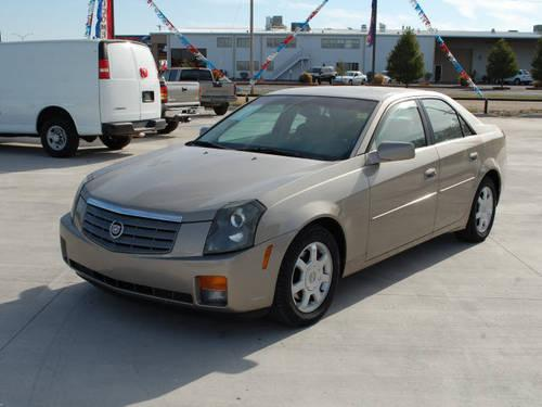 2003 cadillac cts 4 dr sedan for sale in wichita kansas classified. Black Bedroom Furniture Sets. Home Design Ideas