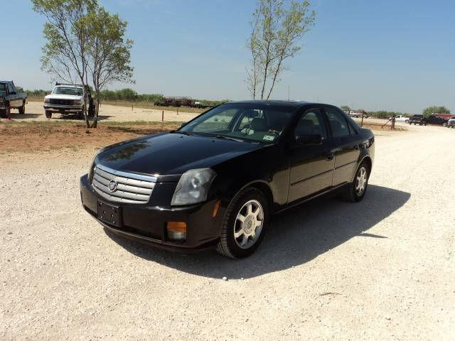 2003 cadillac cts for sale in coleman texas classified. Black Bedroom Furniture Sets. Home Design Ideas