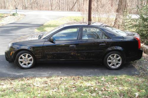 2003 cadillac cts sedan black make me an offer for sale in new hamburg new york classified. Black Bedroom Furniture Sets. Home Design Ideas