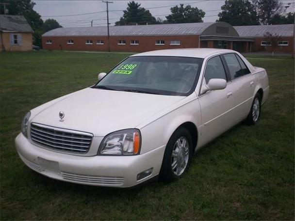 2003 cadillac deville for sale in mount vernon ohio. Black Bedroom Furniture Sets. Home Design Ideas