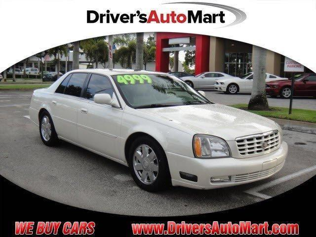 2003 cadillac deville dts for sale in cooper city florida classified. Black Bedroom Furniture Sets. Home Design Ideas