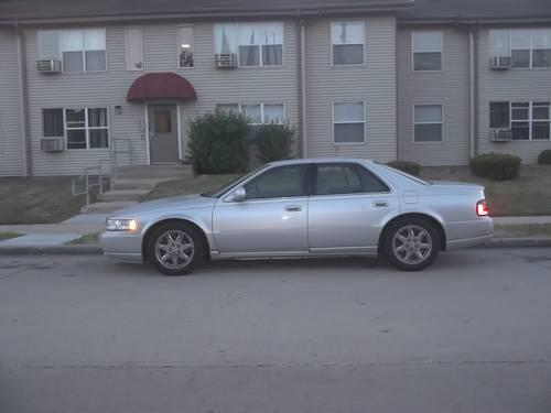 2003 cadillac sts silver 120 000 miles for sale in kenosha wisconsin classified. Black Bedroom Furniture Sets. Home Design Ideas