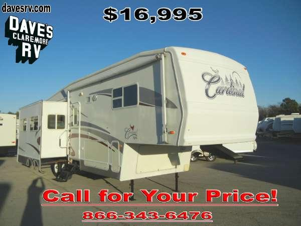 2003 Cardinal 33ts For Sale In Claremore Oklahoma