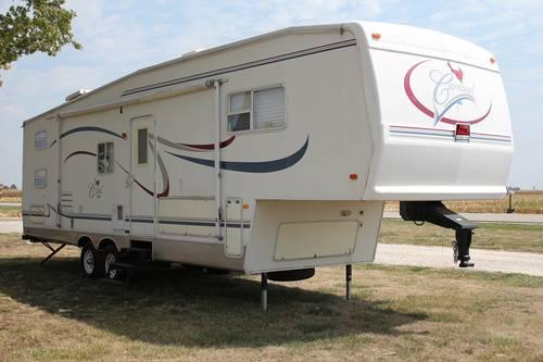 2003 cardinal 5th fifth wheel bunkhouse for sale in plainview