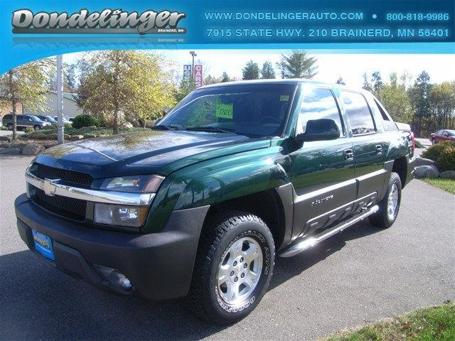 2003 chevrolet avalanche 1500 for sale in brainerd. Black Bedroom Furniture Sets. Home Design Ideas