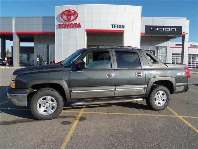 2003 chevrolet avalanche 1500 for sale in idaho falls. Black Bedroom Furniture Sets. Home Design Ideas