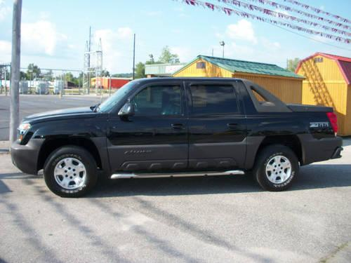 2003 chevrolet avalanche suv z66 for sale in decatur. Black Bedroom Furniture Sets. Home Design Ideas