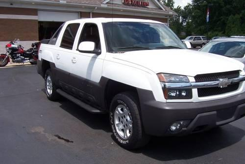 2003 chevrolet avalanche truck for sale in monroe. Black Bedroom Furniture Sets. Home Design Ideas