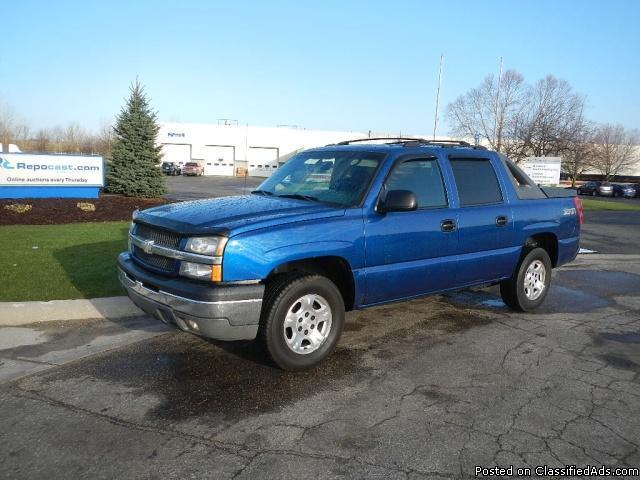 2003 chevrolet avalanche z71 for sale in byron center. Black Bedroom Furniture Sets. Home Design Ideas