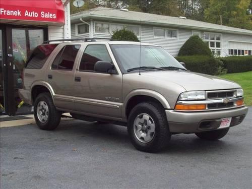 2003 chevrolet blazer suv ls for sale in beemerville new jersey classified. Black Bedroom Furniture Sets. Home Design Ideas