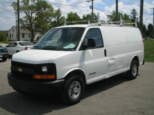 2003 Chevrolet Express 3500 Cargo Commerical Work