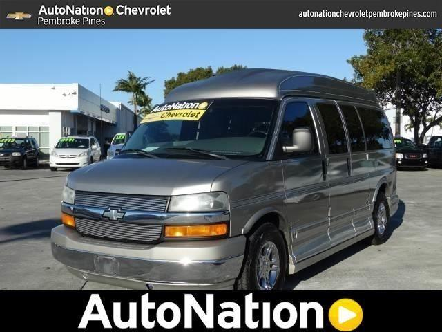 2003 chevrolet express cargo van 2003 chevrolet van van in hollywood. Cars Review. Best American Auto & Cars Review