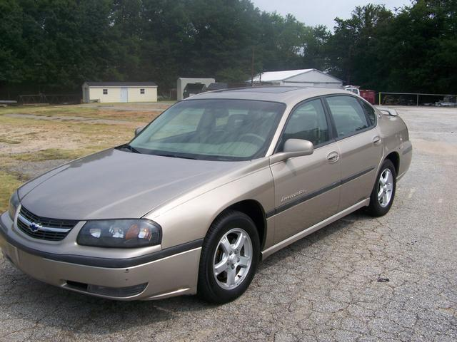2003 chevrolet impala ls for sale in greenville south carolina classified. Black Bedroom Furniture Sets. Home Design Ideas