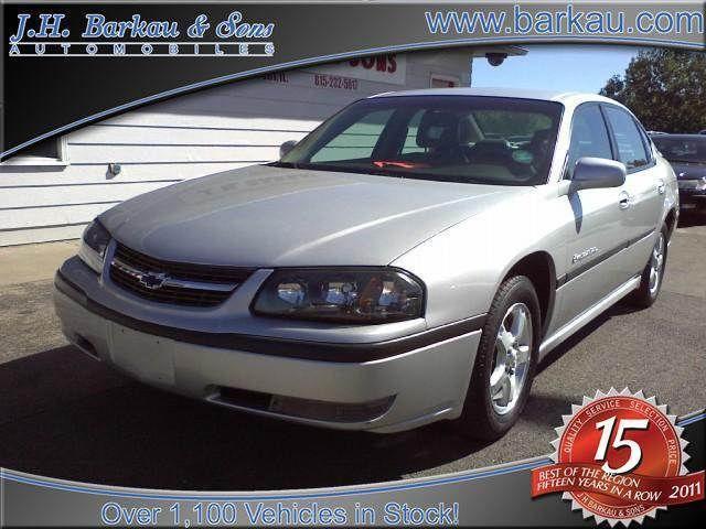 2003 Chevrolet Impala Ls For Sale In Cedarville Illinois