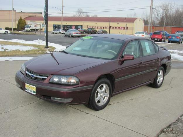 2003 chevrolet impala ls for sale in mansfield ohio classified. Black Bedroom Furniture Sets. Home Design Ideas