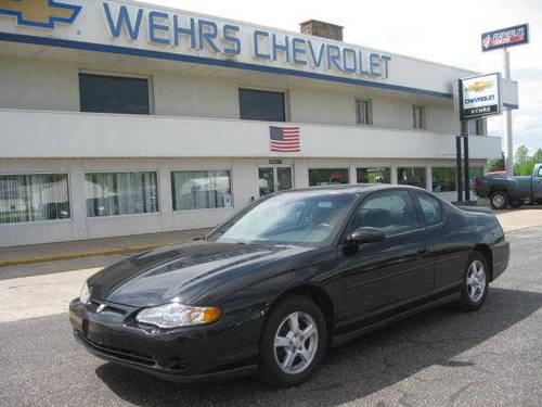 2003 chevrolet monte carlo coupe ls for sale in bangor wisconsin classified. Black Bedroom Furniture Sets. Home Design Ideas