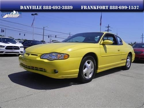 2003 chevrolet monte carlo coupe ss for sale in danville kentucky classified. Black Bedroom Furniture Sets. Home Design Ideas
