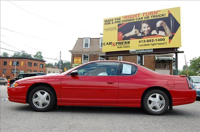 2003 chevrolet monte carlo ss for sale in pittsburgh pennsylvania classified. Black Bedroom Furniture Sets. Home Design Ideas