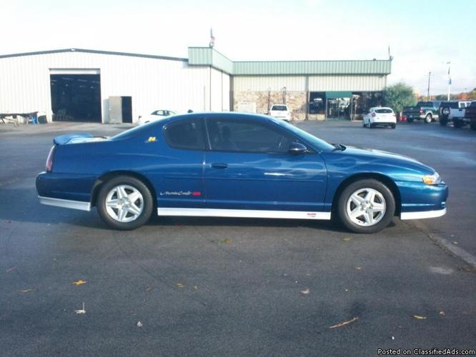 2003 chevrolet monte carlo ss for sale in arab alabama classified. Black Bedroom Furniture Sets. Home Design Ideas