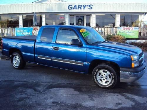 2003 chevrolet silverado 1500 pickup truck lt ext cab short bed 2wd for sale in north topsail. Black Bedroom Furniture Sets. Home Design Ideas