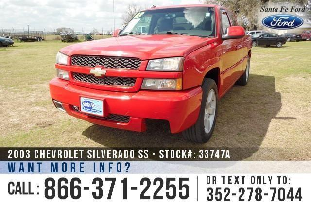 2003 Chevrolet Silverado 1500 SS - 73K Miles - Finance