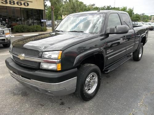 2003 chevrolet silverado 2500 hd ext cab 265657 for sale for Mcvay motors pensacola florida