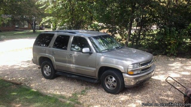 2003 chevrolet tahoe lt 4wd for sale in huntsville alabama classified. Black Bedroom Furniture Sets. Home Design Ideas