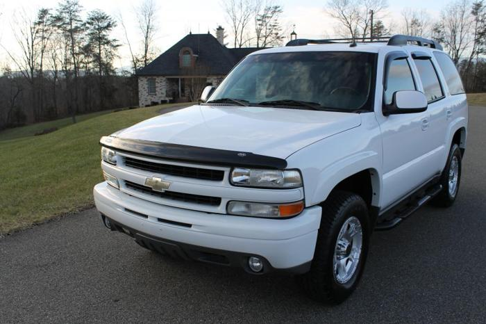 2003 chevrolet tahoe z71 3rd row seats white alloy wheels for sale in los angeles. Black Bedroom Furniture Sets. Home Design Ideas