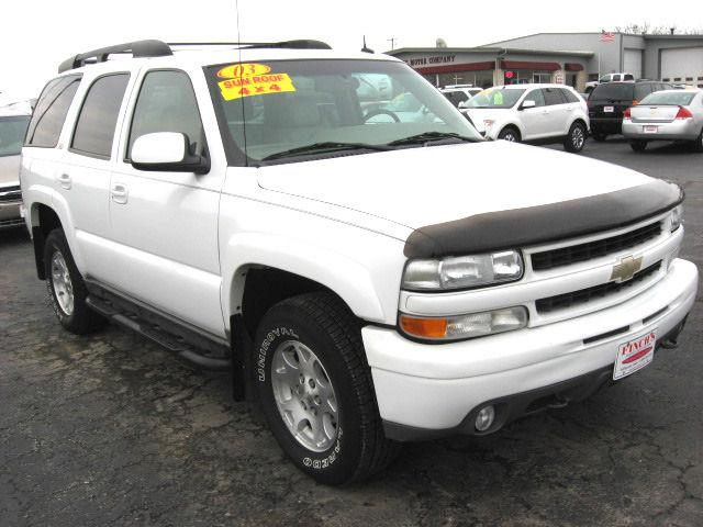 2003 chevrolet tahoe z71 for sale in jefferson iowa. Black Bedroom Furniture Sets. Home Design Ideas