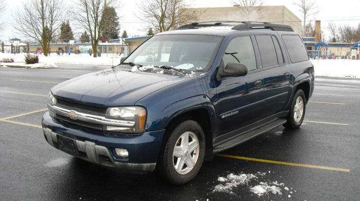 2003 Chevrolet Trailblazer 4dr 4wd Ext Lt For Sale In