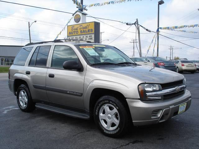 2003 chevrolet trailblazer ls for sale in warsaw indiana. Black Bedroom Furniture Sets. Home Design Ideas