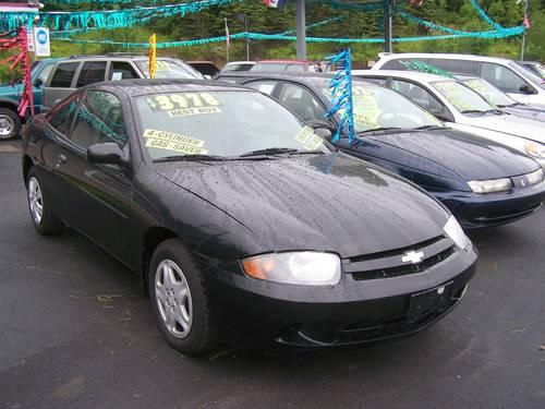 2003 Chevy Cavalier 2 Dr Black Beauty Sporty 5 Speed Rust Free For Sale In Jermyn