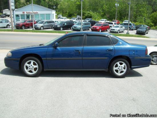 2003 chevy impala for sale in dry fork kentucky classified. Black Bedroom Furniture Sets. Home Design Ideas