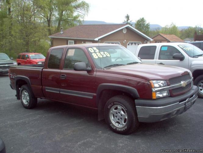 2003 chevy silverado 1500 ls for sale in duncansville pennsylvania classified. Black Bedroom Furniture Sets. Home Design Ideas