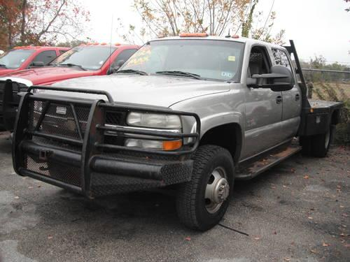 2003 CHEVY SILVERADO 2500 4X4 UTILITY BED/LADDER RACK 1OWNER MUST SEE for Sale in Houston, Texas ...