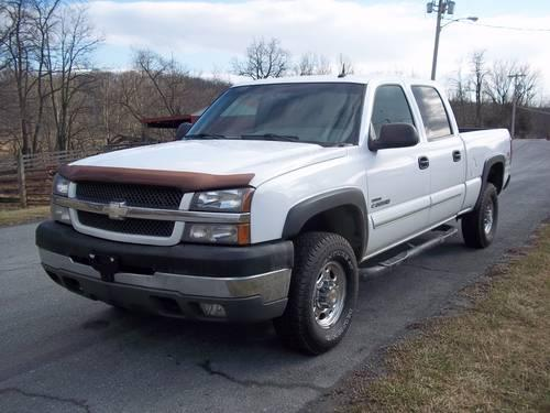 2003 chevy silverado duramax diesel lt 2500 for sale in woodsboro maryland classified. Black Bedroom Furniture Sets. Home Design Ideas
