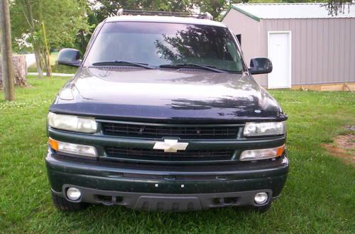 2003 chevy tahoe z71 4x4 for sale in horse cave kentucky. Black Bedroom Furniture Sets. Home Design Ideas